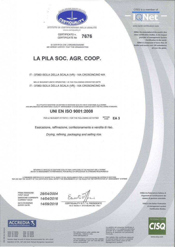 9001-2008 - CERTIQUALITY