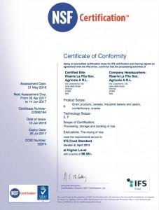 Certificazione IFS