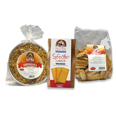 Bakery rice products